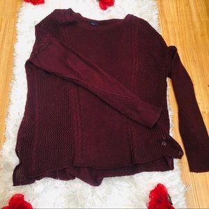 Burgundy/Wine Sweater
